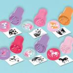 Magical Unicorn Favour Stamp Sets - 12 PKG/6
