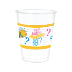 What Will It Bee? Plastic Cups 473ml - 6 PKG/25