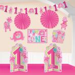 One Wild Girl Room Decorating Kits - 12 PKG