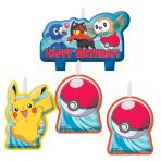 Pokémon Candle Sets - 6 PKG/4