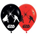 "Star Wars LED Assorted Colour Latex Balloons 11""/27cm - 12 PKG/5"