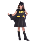 Batgirl Classic Costume - Age 4-6 Years - 1 PC