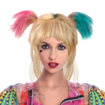 Harley Quinn Birds of Prey Wig - 1 PC