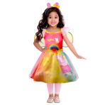 Peppa Pig Rainbow Dress - Age 3-4 Years - 1 PC