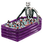 Skeleton Inflatable Drinks Cooler - 4 PC