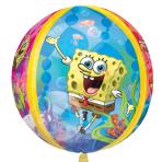 "Orbz SpongeBob Squarepants Foil Balloon - 15""/38cm w x 16""/40cm h - G40 5PC"