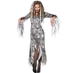 Adults Graveyard Zombie Costume - Size 8-10 - 1 PC