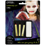 Basic Vampire Make Up Kit - 6 PKG/5