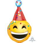 Emoticon Party Hat SuperShape Foil Balloons P30 - 5 PC