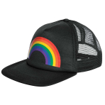 Rainbow Baseball Hats 15cm x 21cm - 8 PC