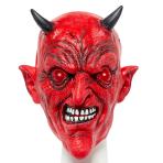 Red Devil Full Head Mask - 1 PC