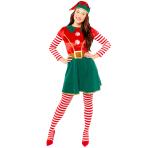 Deluxe Elf Costume - Size 8-10 - 1 PC