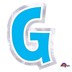 Personalised Letter: G Stickers - 48 PC