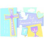 Invite/Invitation Folded Communion Celebration 12 PKG/8