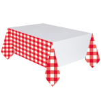 Picnic Party Plastic Tablecovers 1.37m x 2.6m - 6 PC
