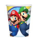 Super Mario Paper Cups 266ml - 6 PKG/8