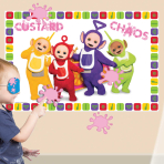 Teletubbies Custard Chaos Party Games - 6 PKG