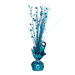 Caribbean Blue Spray Centrepiece Balloon Weights 30cm - 6 PC
