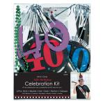 40th Birthday Party Kits - 6 PC