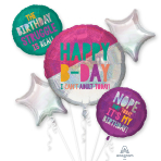 Young & Fab Foil Balloon Bouquets P75 - 3 PC