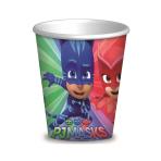 PJ Masks Paper Cups 260ml - 6 PKG/8