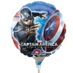 Captain America Winter Soldier - Air Filled Foil Balloons - A20 - 5 PC