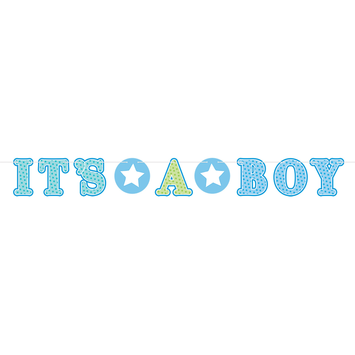 Welcome Home Baby Boy Quotes: Welcome Baby Boy Illustrated Letter Banner