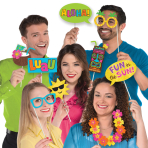 Hawaiian Luau Photo Props - 6 PKG/13