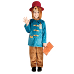 Paddington Bear Deluxe Costume - Age 4-6 Years - 1 PC