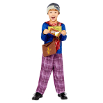 Charlie Bucket Costume - Age 10-12 Years - 1 PC