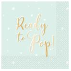 Ready To Pop Luncheon Napkins 33cm - 6 PKG/16