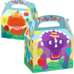 Favours Party Boxes Dinosaur - 75 PC