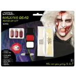 Walking Dead Zombie Make Up Kit - 4 PKG/10