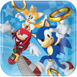 Have a blast with our new Sonic the Hedgehog partyware & balloons