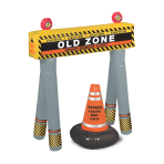 Inflatable Barricade Signs - 4 PC