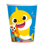 Baby Shark Paper Cups 250ml - 6 PKG/8