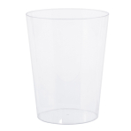 Plastic Clear Large Containers 19.3cm - 12 PC