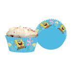 SpongeBob Cupcake Cases - 10 PKG/48