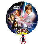 Star Wars Jumbo Sing-A-Tune XL Foil Balloons P75 - 5 PC