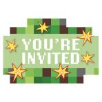 TNT Party! Postcard Invitations - 6 PKG/8