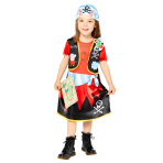 Peppa Pig Pirate Costume - Age 2-3 Years - 1 PC