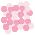 Pink Tissue Confetti - 12 PC