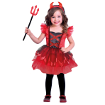 Little Devil Costume - Age 4-6 Years - 1 PC