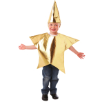 Star Nativity Costume - Age 3-5 Years - 1 PC