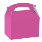 Bright Pink Party Boxes - 75 PC