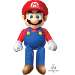 "Super Mario AirWalkers XL 36""/91cm w x 60""/152cm h P93 - 5PC"