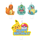 Pokemon Candle Sets - 6 PKG/4