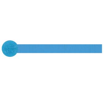 Sapphire Blue Crepe Streamers 4.4cm x 24.7m 12 PC