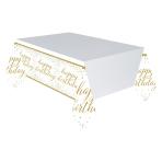 Confetti Fun Plastic Tablecovers 1.37m x 2.6m - 6 PC