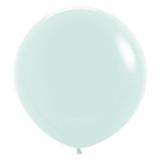 "Pastel Matte Solid Green 630 Latex Balloons 24""/60cm - 3 PC"
